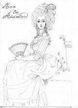 Antoinette Marie Coloring Pages sketch template