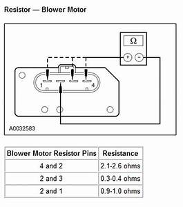 I Have An A  C Fan Problem In My 2007 Lincoln Navigator