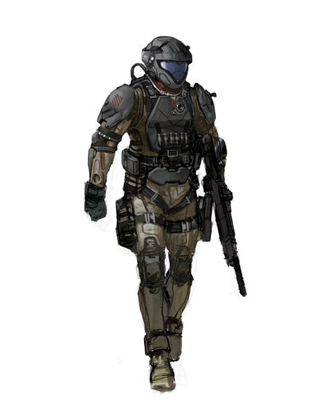 Isaac Hannaford Halo 3 Odst Iterations