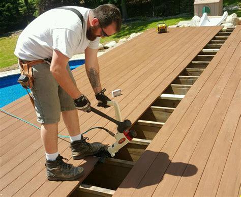 hidden fasteners  decks professional deck builder