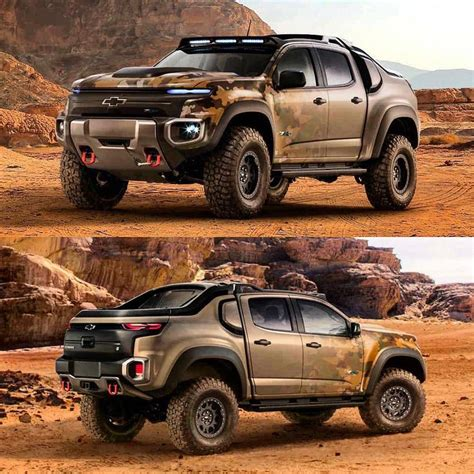 Chevrolet Colorado Zh2 Fuel Cell Vehicle Was Designed For