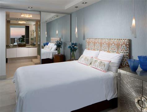 chambre attenante appartement design luxe avec superbe vue sur la mer à