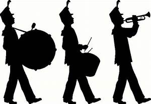 Marching Band wall sticker, vinyl decal | The Wall Works