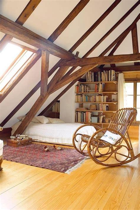 vigas de madera  la vista en diferentes sectores de la casa