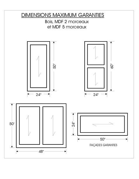 fabricant de porte de cuisine dimension porte standard obasinc com