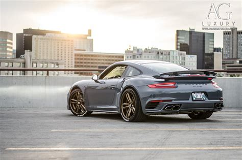 AG Luxury Wheels - Porsche Turbo Forged Wheels