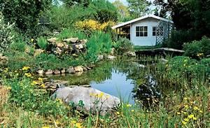 Gartengestaltung am teich teich anlegen selbstde for Garten planen mit flaschenzug balkon