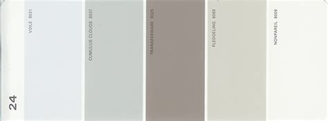 martha stewart paint 5 color palette card 17 thelandofcolor