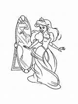 Mirror Coloring Printable sketch template