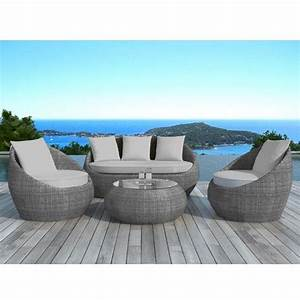 12 best images about salons de jardin on pinterest miami With tapis berbere avec canape exterieur en resine