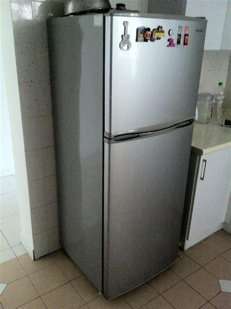 fridge for garage renovation garage samsung 250l top freezer