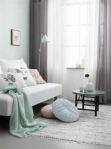 Fresh And Pastel Style Your Living Room In Mint Hues