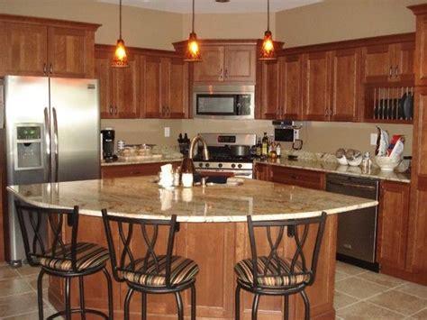 corner kitchen island corner stove