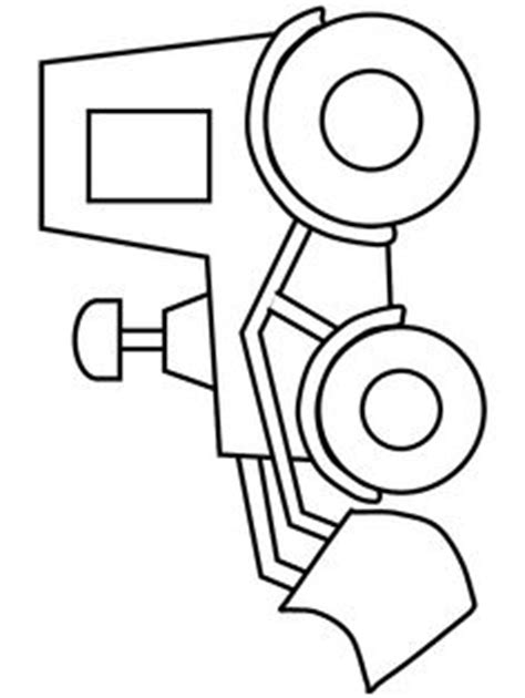 tractor template to print free tractor stencil printables clipart best