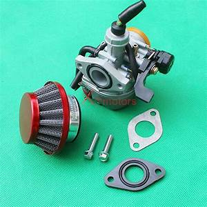 Pz19 Carburetor Air Filter For 50cc 70cc 90cc 110cc Atv