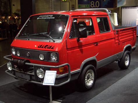 Vw T3 Syncro Doka Pritsche Concept Magma 1987