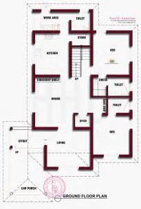 ground floor plan beautiful kerala house photo with floor plan indian