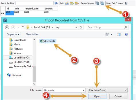 mysql show table contents import csv file into mysql table