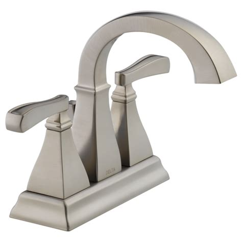 Delta Lorain Faucet Brushed Nickel by Bathroom Faucets Showers Toilets And Accessories Delta