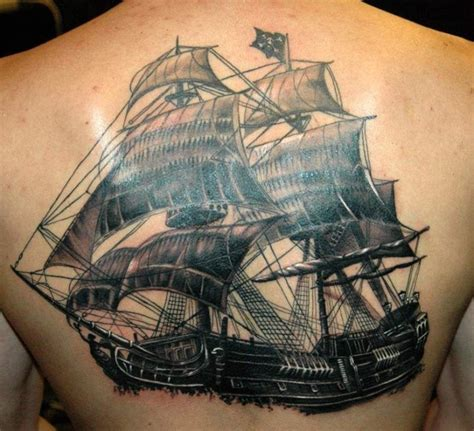 pirate ship tattoos designs ideas  meaning tattoos