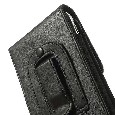 Vertikale Leder Handytasche mit Gürtelclip für Samsung
