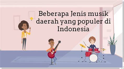Musik sebagai salah satu cabang seni, tentunya tidak akan dapat dipisahkan dari kehidupan manusia, sebab musik terdapat dalam setiap kelompok masyarakat di seluruh dunia baik itu dunia barat ataupun timur yang telah menjadi kebutuhan ekspresif manusia, yaitu sebagai kebutuhan yang erat kaitannya dengan kemampuan manusia untuk mengekspresikan perasaan, atau gagasannya tentang kehidupan. SENI MUSIK Kelas 6 #1 Perkembangan & Jenis Musik daerah - YouTube