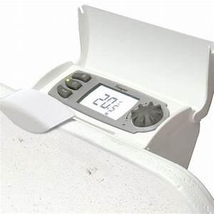 Radiateur Electrique Avec Thermostat : chauffage lectrique r gulateur programmateur thermostat ~ Edinachiropracticcenter.com Idées de Décoration