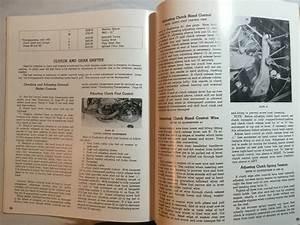 Harley Wlc Canadian Operation Service Repair Manual Book