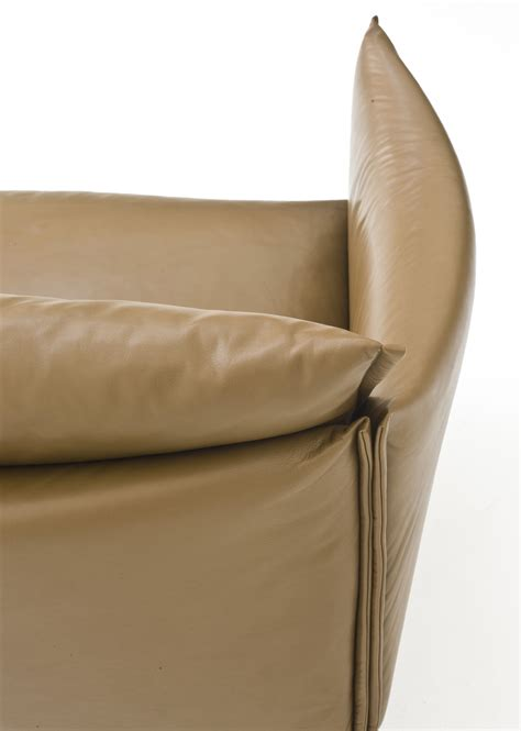 canapé 240 cm canapé droit gentry l 240 cm cuir cuir ciré marron