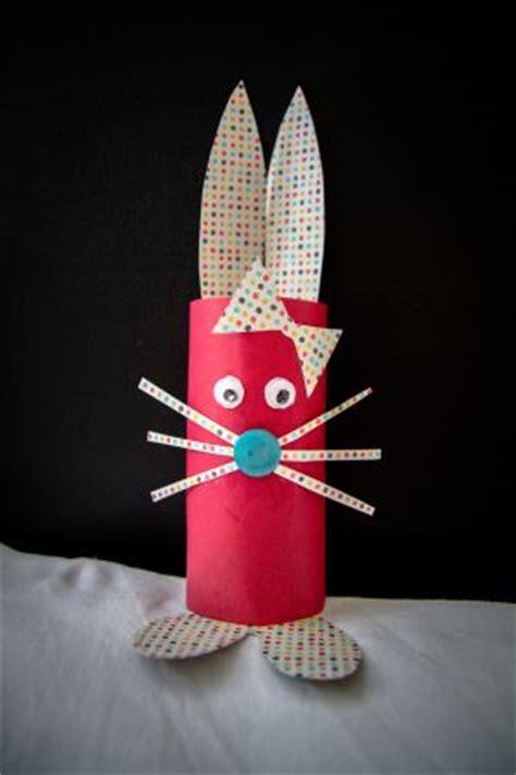 diy un lapin avec un rouleau de papier toilette s 232 ve d 233 co