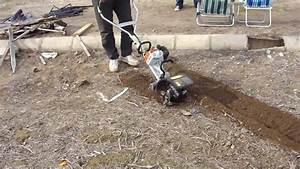 Stihl Mm 55 Breaking Soil 1  1
