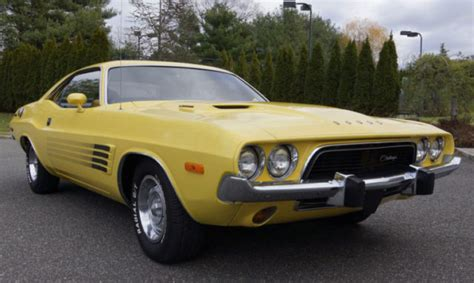 1973 Dodge Challenger 340 Rally Numbers Matching