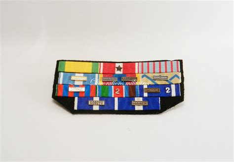barrette 11 places d 233 corations militaires