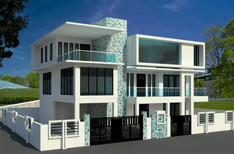 modern home interior color revit modeling for 3d contemporary houses free