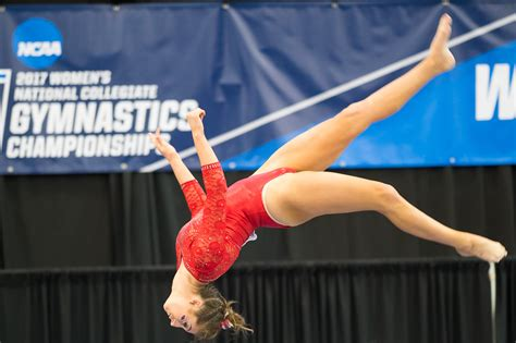 ncaa gymnastics regionals arkansas razorbacks