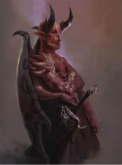 Artstation Demon Azazel Fantasy Artwork Evil Demons