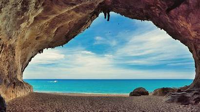 Sardinia Wallpapers Italy Luna Coast Beach Caves