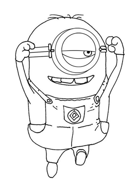 Kleurplaat Minion Ukelele by 58 Best Images About Omalov 225 Nky On Coloring