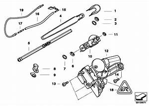 Original Parts For E91 320d M47n2 Touring    Vehicle Electrical System   Single Parts For Rear