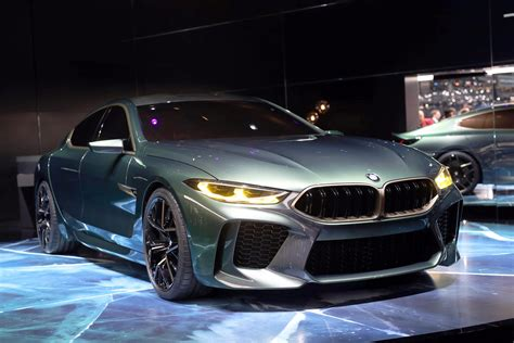 Bmw M8 Gran Coupe Concept Unveiled At Geneva