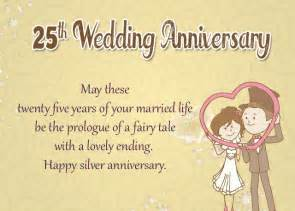 25th wedding anniversary wishes 25th wedding anniversary wishes for silver jubilee