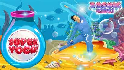 Cosmic Yoga Underwater Games Fun Dance Workout