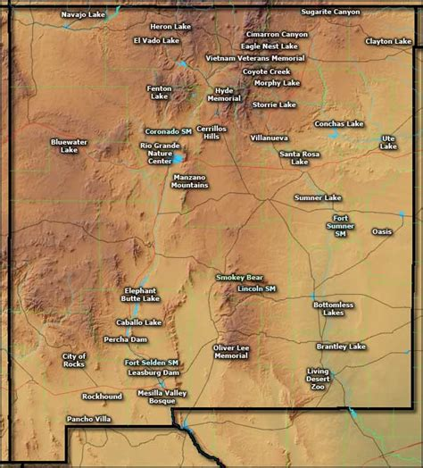 New Mexico State Parks And Monuments