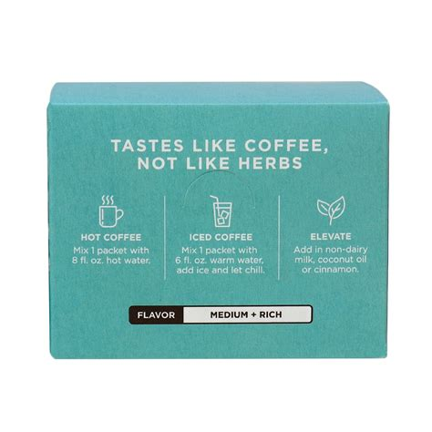 The mushroom coffees as well as the coffee latte, adaptogen ground coffee and adaptogen coffee contain organic, 100% arabica coffee, along with. Four Sigmatic Organic Adaptogen Coffee Mix with Ashwagandha Balance in Canada | Organic, Whole30 ...