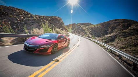 2017 Acura Nsx Red 4k Wallpaper Hd Car Wallpapers