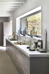 cuisine contemporaine moderne chic urbaine With plan de maison design 9 renovation cuisine contemporaine et douce dans maison