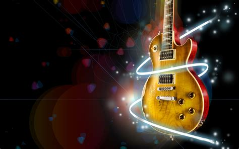 guitar hd wallpaper background image  id