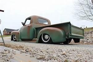 1950 Chevy 3100 Bagged Rat Hot Rod Patina Pickup Truck