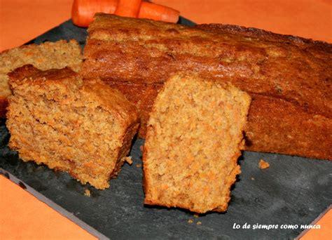 Pastebizcocho De Zanahoria  Carrot Cake  Lo De Siempre