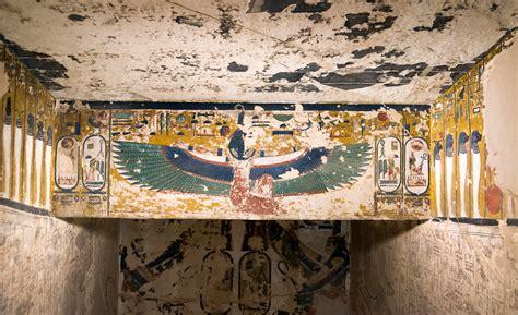 kv  tomb  seti  stairwell  relief  kv